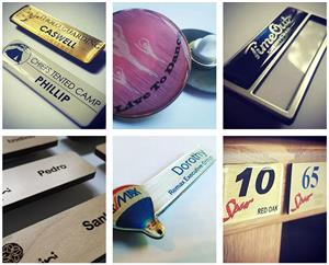 NAME BADGES for event planning