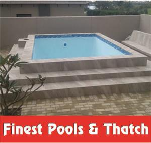FINEST POOLS AND  THATCH