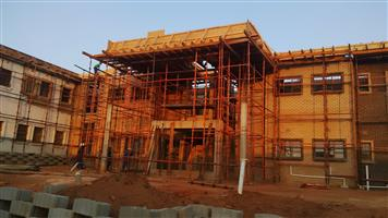 Scaffolding and Slab Material Hire