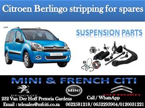 BIG PROMOTION ON CITROEN BERLINGO SUSPENSION PARTS