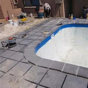 ROCKFACE PAVING SLABS SUPPLY AND INSTALLATION