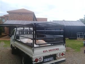 Kia and Hyundai  tralie / cattle rails