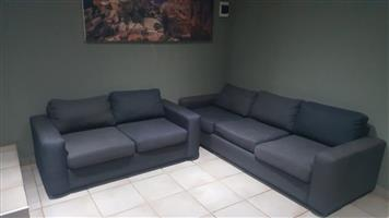 2 and 3 seater couches for sale R5500