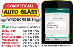 Hyundai H100 2004- Commercial Auto Glass N1 City Windscreen Special
