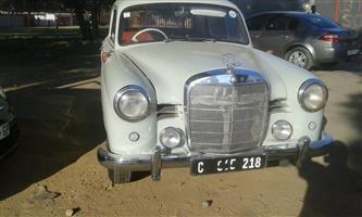 1961 Mercedes Benz 190
