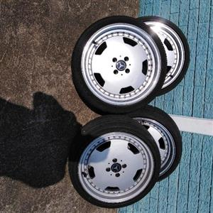 17AMG rims 4x100pcd for sale