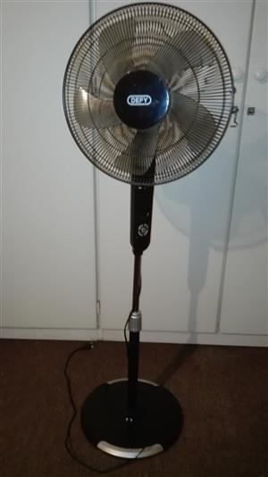 DEFY  (DSF 1645 B ) Remote Controlled Adjustable Pedestal Fan