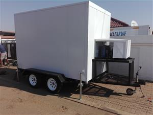 Mobile Cold Room Trailer