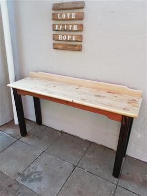 Light wooden top table for sale
