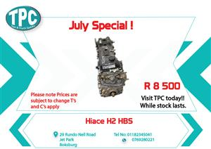 Hiace H2 HBS for Sale at TPC
