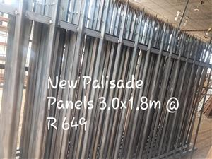 New Palisade Panels