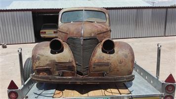 '39 Chevrolet sedan