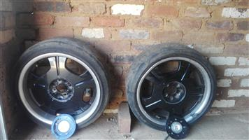 "Urgent Sale - Set of 4 x 17"" Rims for sale now @ R2500 neg"