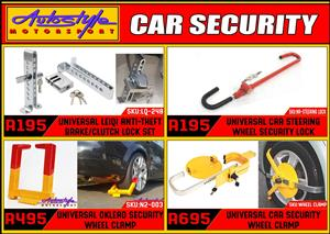 Vehicle Security Devices