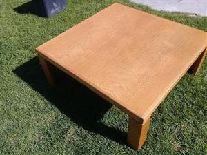 EXCELLENT LARGE coffee table contact