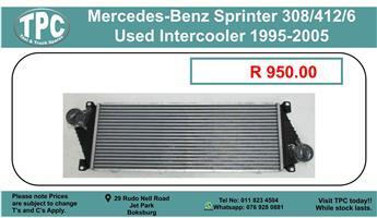Mercedes-Benz Sprinter 308/412/6 Used Intercooler 1995-2005 For Sale.