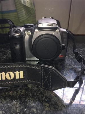 Canon camera & bag with lense