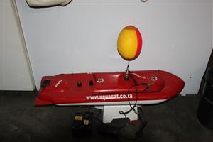 Aqua dingy Hopper Bait Boat