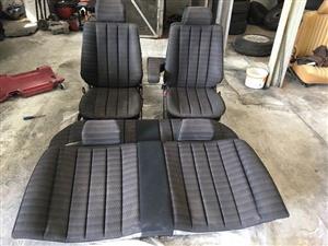Mercedes-benz W201 (190e) set of seats