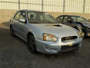 2004 Subaru Wrx Stripping