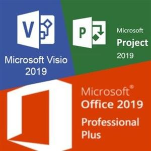 office 2019 visio and project