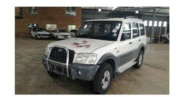 2005 Mahindra Scorpio Stripping for spares