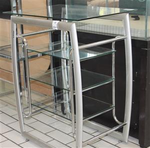 Glass TV stand S030461A #Rosettenvillepawnshop