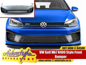 VW Golf Mk7 R400 Style Front Bumper