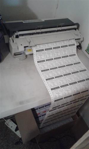 Prepaid Vouchers printing machine for sale