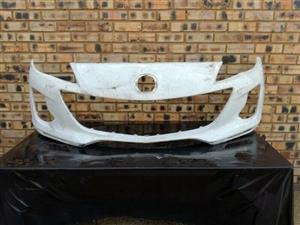 Mazda 3 Front Bumper Skin