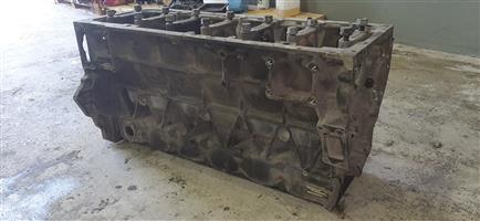 MAN D2066 engine block for sale!