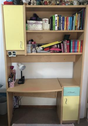 Bookshelf and Desk