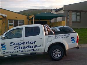 Caprports. Shadenet. New and repairs; SuperiorShadesPE