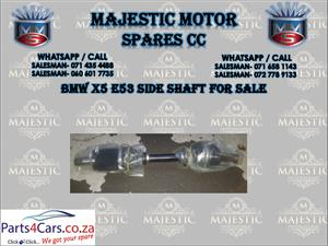 BMW X5 E53 side shafts for sale