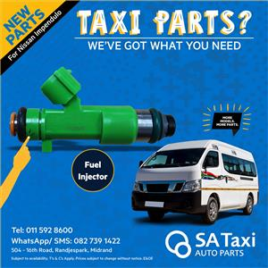 NEW FUEL INJECTOR suitable for Nissan Impendulo - SA Taxi Auto Parts  quality spares