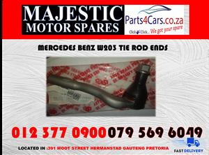 Mercedes benz w203 tie rod ends for sale new spares