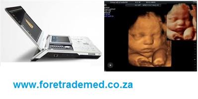 4D Laptop Ultrasound Machine with one 4D probe only R242 000..,,