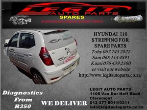 HYUNDAI I10 STRIPPING FOR SPARE PARTS