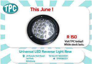 Universal LED Reverse Light New for Sale at TPC