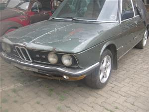 BMW E12 - 535 Collector's Item - PROJECT CAR - R49,000