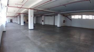 Different Sized Industrial Spaces To Let at R25 per m² in Johannesburg cbd