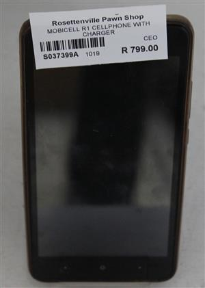 Mobicel R1 cellphone with charger S037399A #Rosettenvillepawnshop