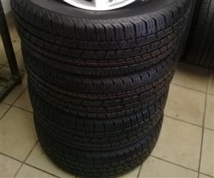265/60/18 continental cross contact brand new tyres.