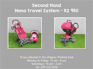 Second Hand Nuna Travel System
