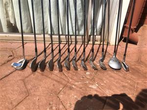 MCGREGOR SET OF GOLF CLUBS EXCELLENT CONDITION AS NEW R650.00