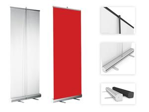 8 x pull-up banners 2000 x 850 mm - complete