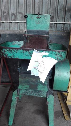 Small Granulators for sale (2 available)