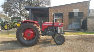 Red Massey Ferguson (MF) 165  2x4 Pre-Owned Tractor