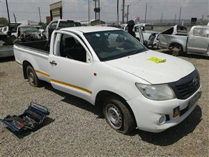 Toyota Hilux 2.5 D4D 2012 Stripping For Spares