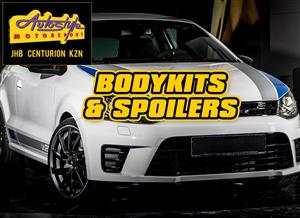 Body kits, bumpers and spoiler kits for all popular cars